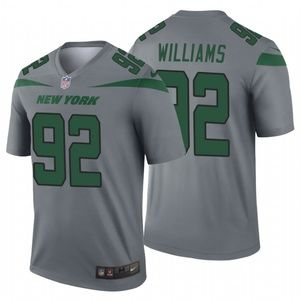 Men's Leonard Williams #92 New York Jets Jersey